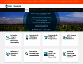 compras.mendoza.gov.ar screenshot