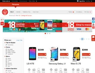 comprasonline.claro.com.ar screenshot