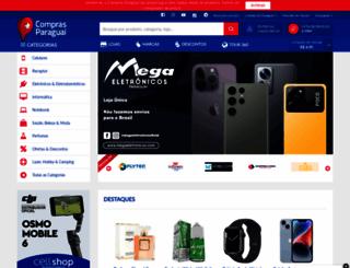 comprasparaguai.com.br screenshot