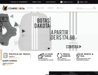 compredeboa.com.br screenshot