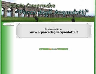 comprensivotuscolana.gov.it screenshot