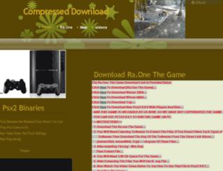 compresseddownload.sitew.com screenshot