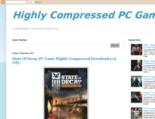 compressedgames11.blogspot.in screenshot