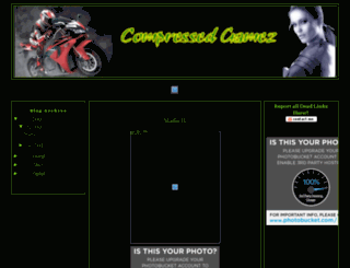 compressedgamez.blogspot.com screenshot