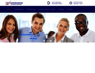 compromisso.net screenshot