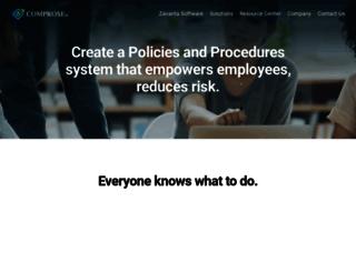 comprose.com screenshot