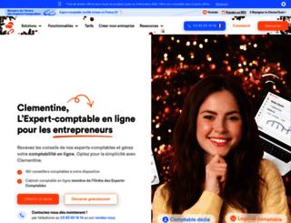compta-clementine.fr screenshot