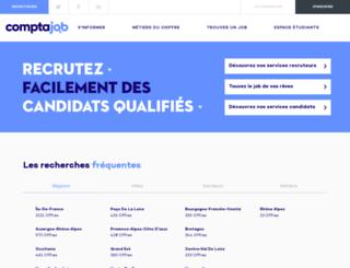 comptajob.fr screenshot