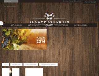 comptoir-du-vin.fr screenshot