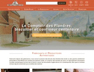comptoirdesflandres.com screenshot