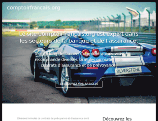 comptoirfrancais.org screenshot
