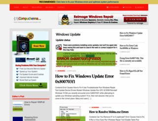 compuchenna.co.uk screenshot