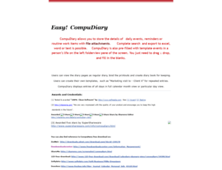 compudiary.googlepages.com screenshot