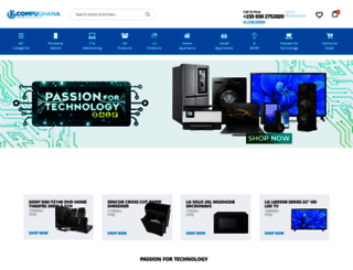 compughana.com screenshot