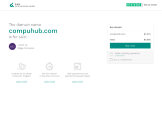 compuhub.com screenshot