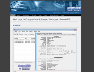 compulsionsoftware.com screenshot