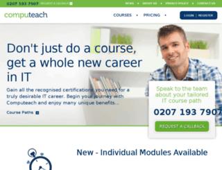 computeach-web.co.uk screenshot