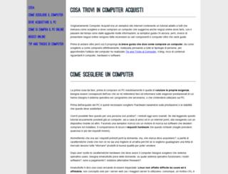 computer-acquisti.com screenshot