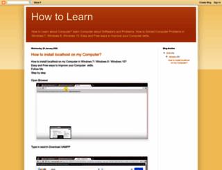 computer-elearn.blogspot.com screenshot