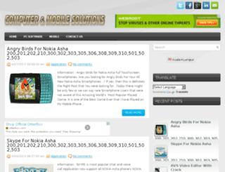 computer-mobile-solutions.blogspot.com screenshot