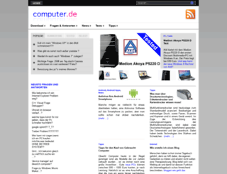 computer.de screenshot