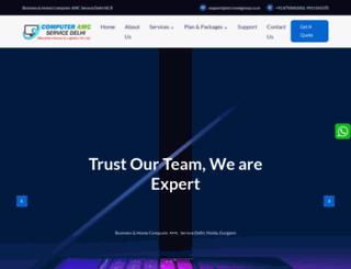 computeramcservicedelhi.in screenshot
