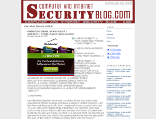 computerandinternetsecurityblog.com screenshot