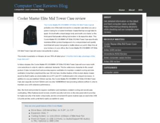 computercasereviewsblog.com screenshot