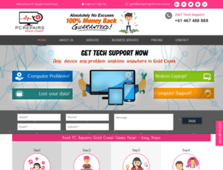 computerepairs.com.au screenshot