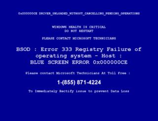 computererror.org screenshot