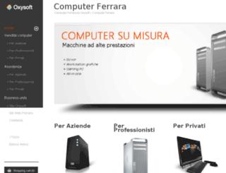 computerferrara.it screenshot