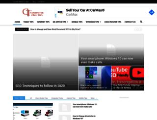 computerfreetips.com screenshot
