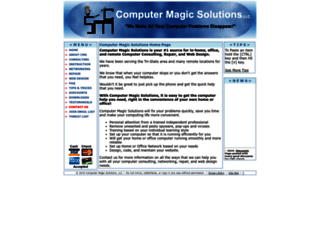 computermagicsolutions.com screenshot