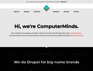 computerminds.co.uk screenshot