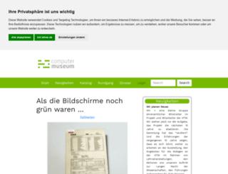 computermuseum.htw-berlin.de screenshot