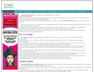 computerphonecall.com screenshot