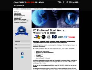 computerrepairbishopston.co.uk screenshot