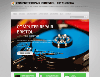 computerrepairbristol.co.uk screenshot