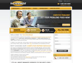 computerrepairservice.net screenshot