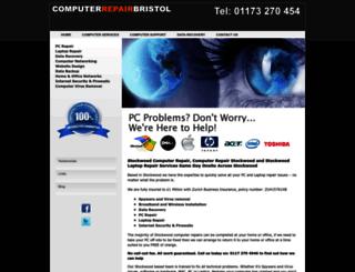 computerrepairstockwood.co.uk screenshot