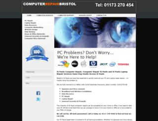 computerrepairstpauls.co.uk screenshot