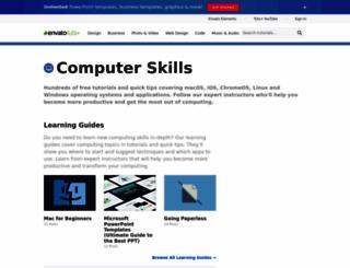 computers.tutsplus.com screenshot