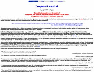 computersciencelab.com screenshot