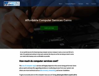 computerservicescairns.com.au screenshot