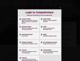 computershare.com screenshot