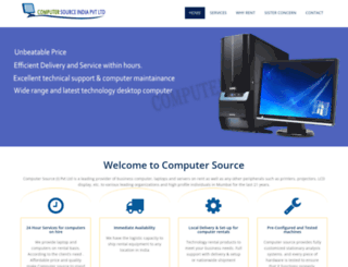 computersource.co.in screenshot
