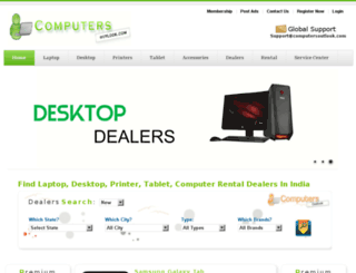 computersoutlook.com screenshot