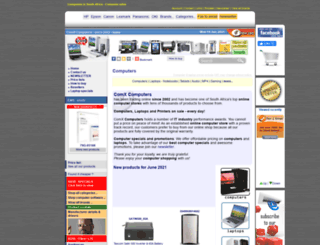 computerstore.co.za screenshot