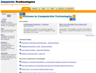 computertim.com screenshot