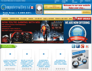 computervalley.ca screenshot